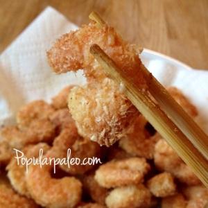 Ginger Coconut Prawns | popularpaleo.com
