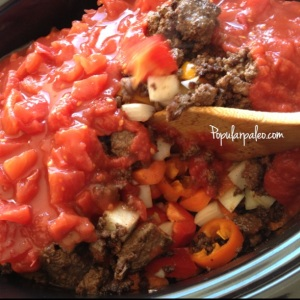 Sweet & Spicy Slow Cooker Stew on www.PopularPaleo.com