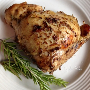 Roasted Balsamic Chicken | popularpaleo.com