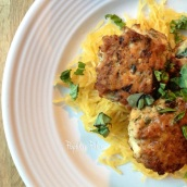 Chicken Florentine Meatballs   popularpaleo.com