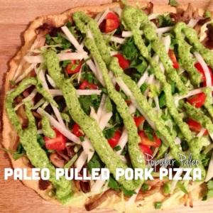 Paleo Pulled Pork Pizza | popularpaleo.com