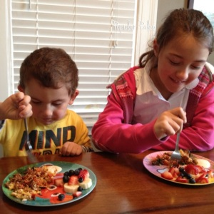 My kids eating their veggies! | Popular Paleo