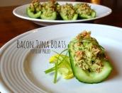 Bacon Tuna Boats Main   Popular Paleo