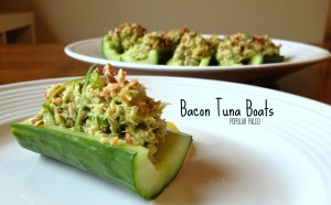 Bacon Tuna Boats | Popular Paleo