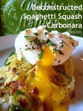 Deconstructed Spaghetti Squash Carbonara 2   Popular Paleo