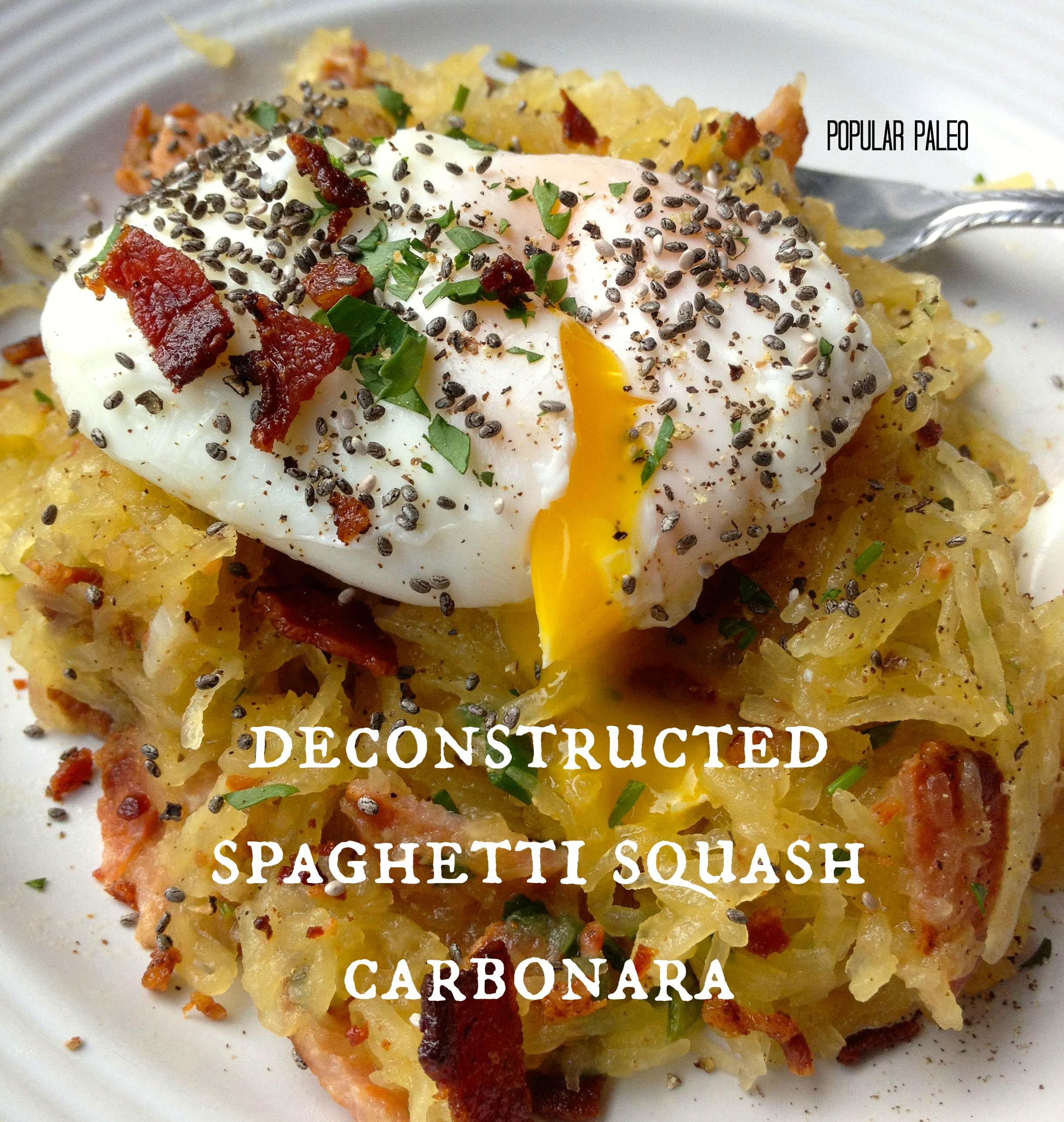 Deconstructed Spaghetti Squash Carbonara… Paleo Style! « Popular ...