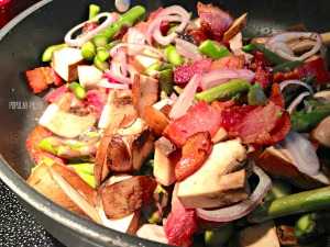 Protein Topper Hash cooking | Popular Paleo