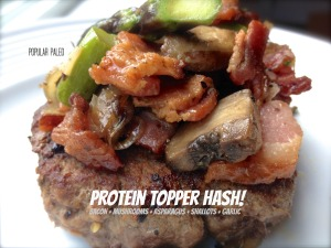 Protein Topper Hash | Popular Paleo