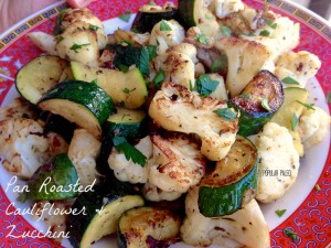 Pan Roasted Cauli & Zucc 3 | Popular Paleo