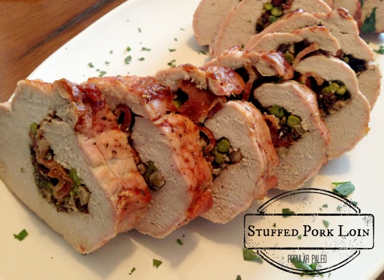 Stuffed Pork Loin | Popular Paleo