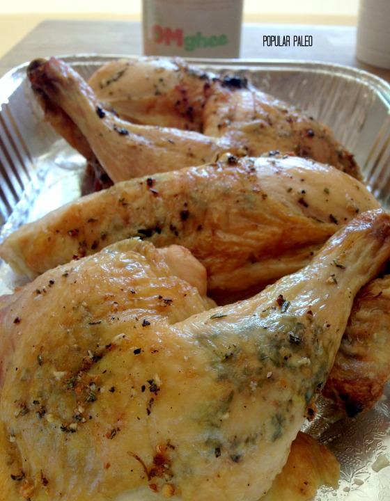 Grill-Roasted Chicken with Ghee 5 | Popular Paleo