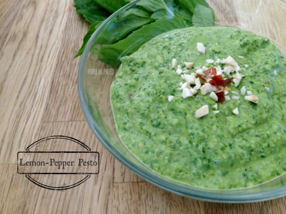 Lemon-Pepper Pesto | Popular Paleo