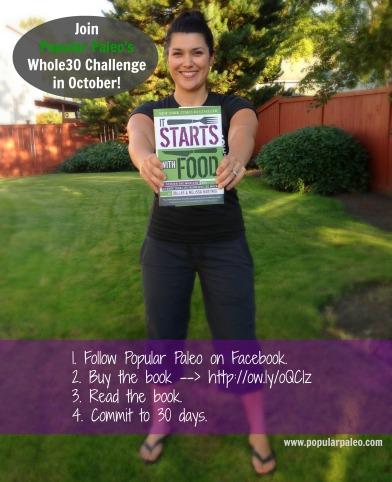 Whole30 Challenge October 2013   Popular Paleo